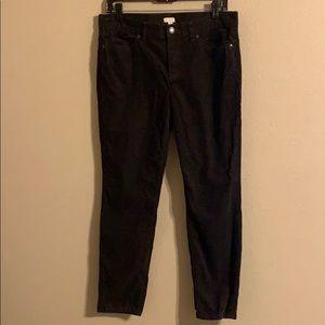 J. Crew Factory corduroy jeans size 29